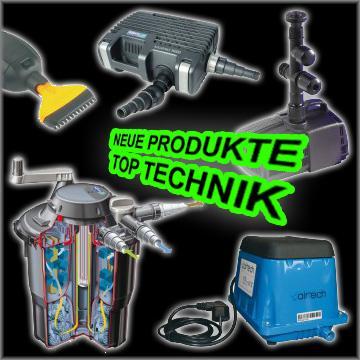 Produkte der Teichtechnik