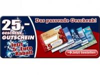 25,-€ Gutschein